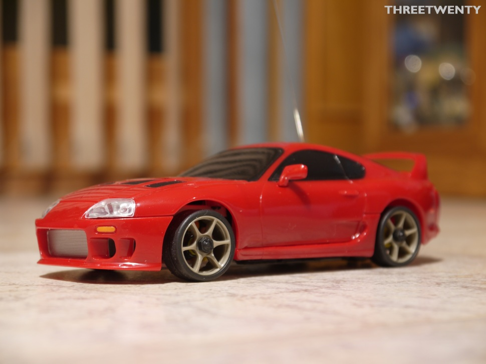 Supra with new wheels.