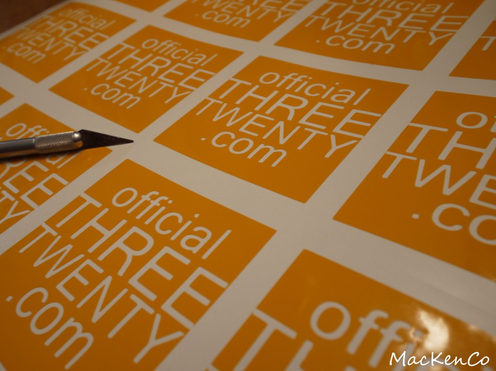THREETWENTY square decals