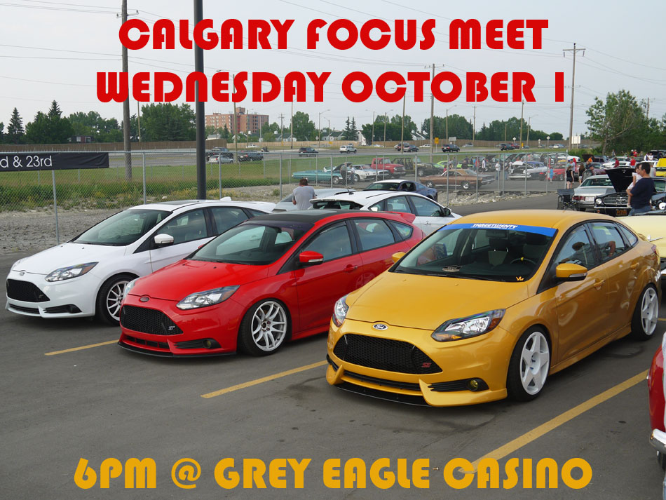 October 1 Focus meet poster