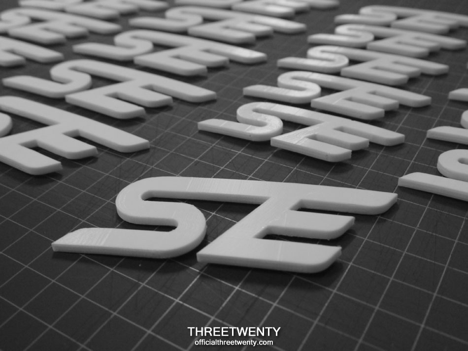 Printed SE emblems