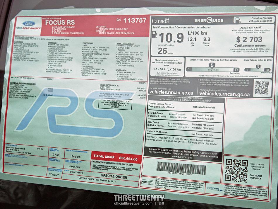Focus RS 7