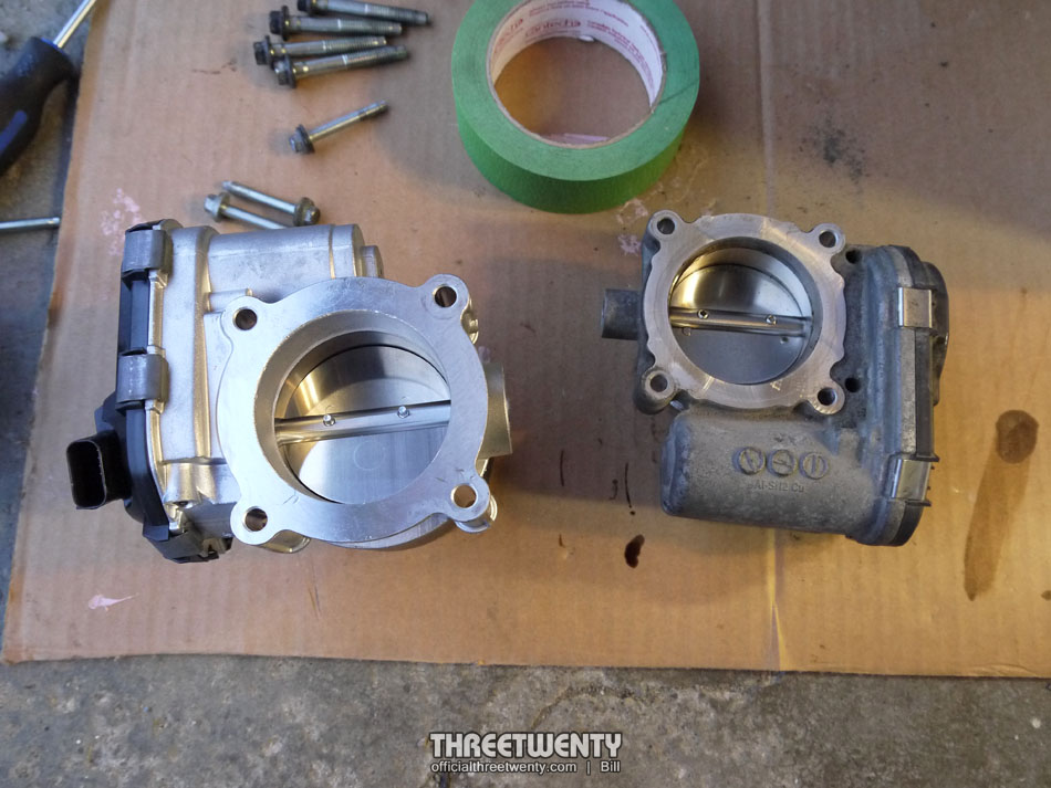 23 EB throttle body 1