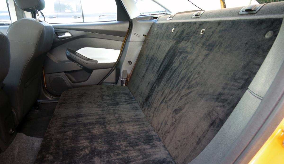 Mustard's Custom Rear Seat Delete