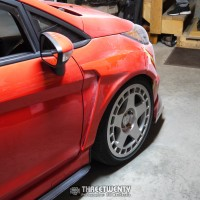 Fitting Sriracha's SS Tuning Flares
