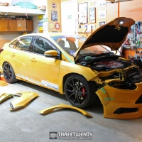 Fitting Mustard's SS Tuning Flares